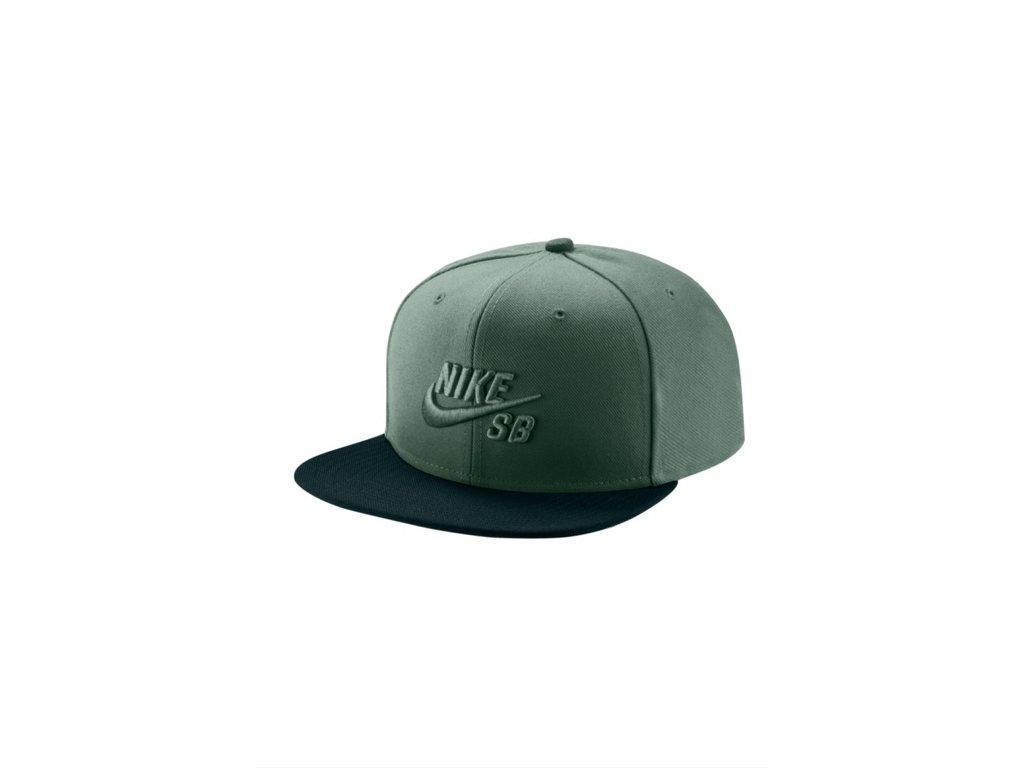 45056d6a1 Kšiltovka Nike SB HAT Clay Green/Deep Jungle/Clay Green