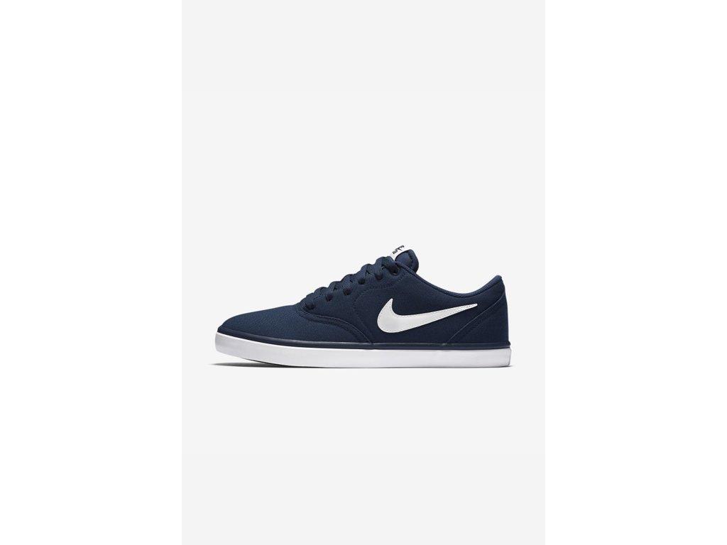 Boty Nike SB CHECK SOLARSOFT CANVAS Midnight Navy White. Pánské skate street  ... bd06e98fd2