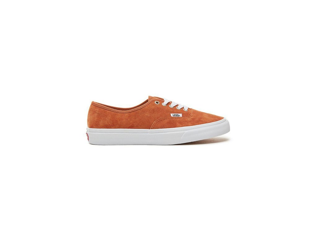 c0e9ca3a859 Boty Vans AUTHENTIC (PIG SUEDE) Leather Brown True White ...