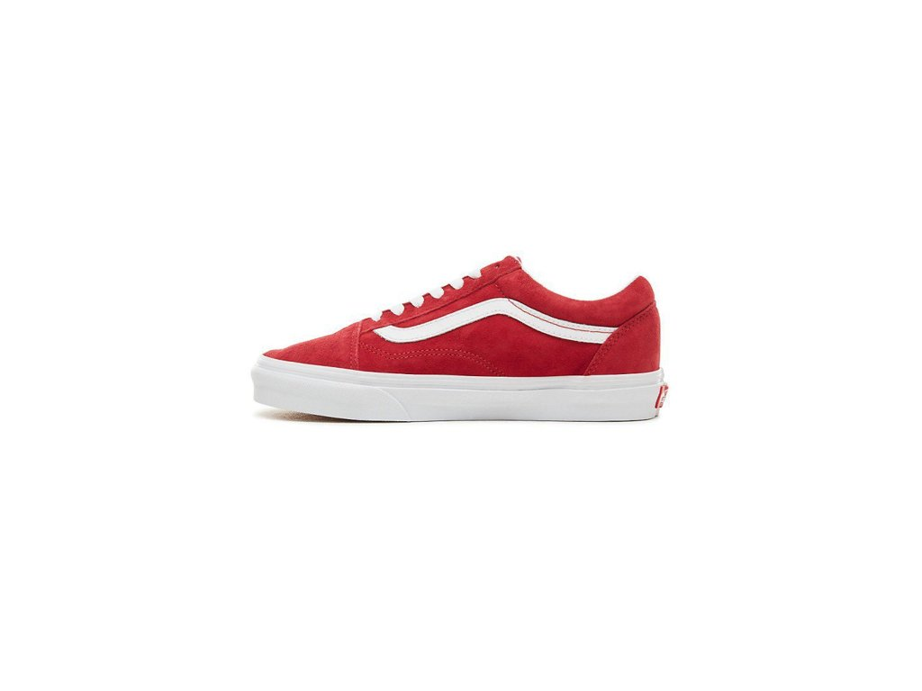 0308e446878bb Boty Vans OLD SKOOL (PIG SUEDE) Scooter/True White - Tornadoshop.cz