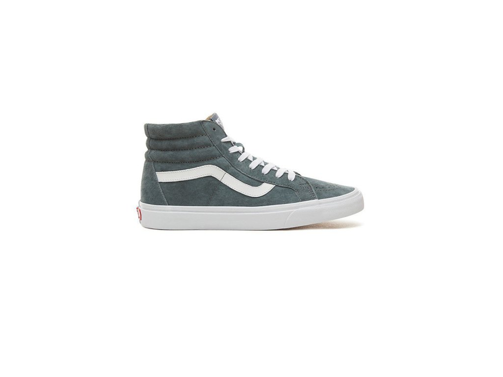 60995bd05a89c5 Boty Vans SK8-HI REISSUE (PIG SUEDE) Stormy Weather True White ...