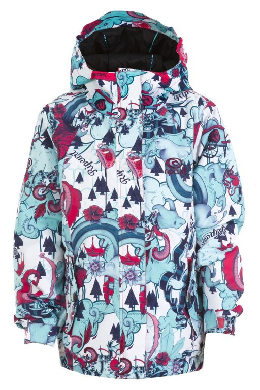 caf97d258 Bunda Rip Curl BETTY PRINTED JR JKT Rouge Red - Tornadoshop.cz