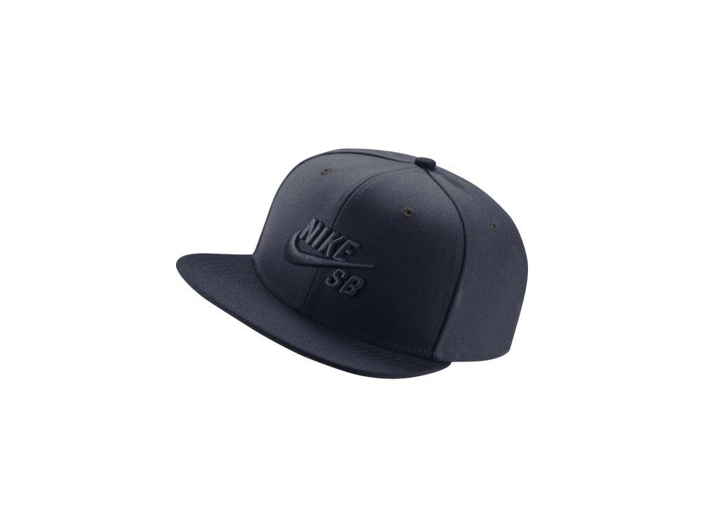 Kšiltovka Nike SB HAT Obsidian Dark Obsidi - Tornadoshop.cz 5b762c4e67