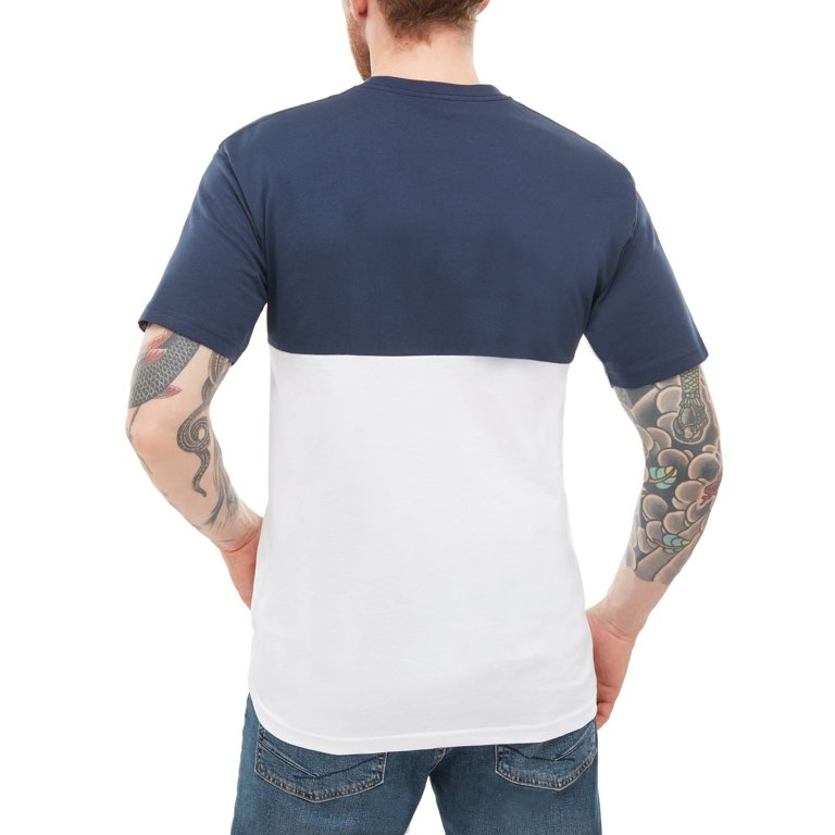 ecaf2aaaaf894 Tričko Vans COLORBLOCK TEE Dress Blues/White - Tornadoshop.cz
