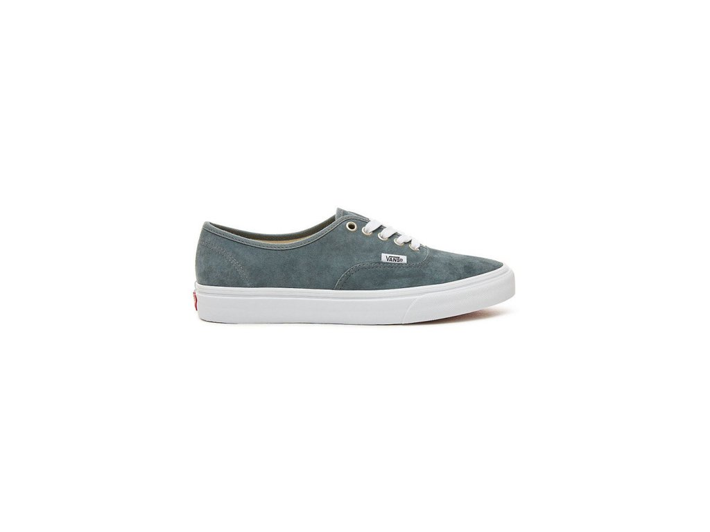 da62cae24fd Boty Vans AUTHENTIC (PIG SUEDE) Stormy Weather True White ...