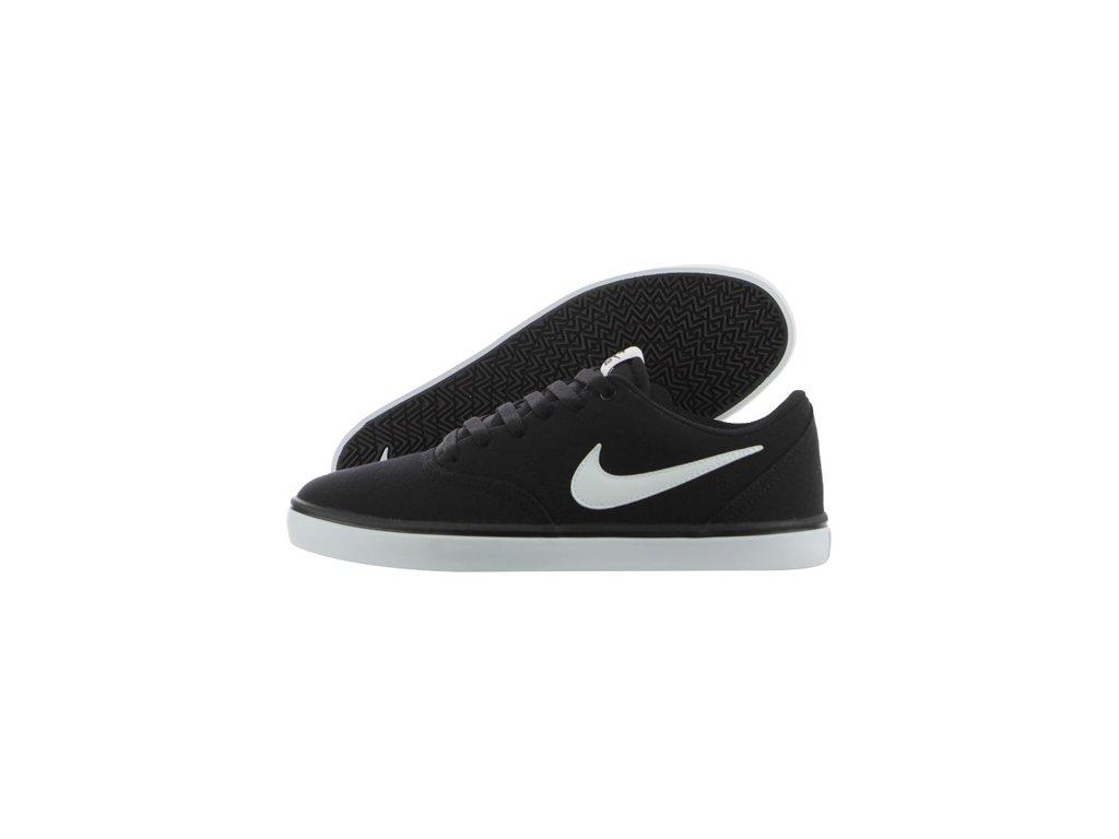 Boty Nike SB CHECK SOLARSOFT CANVAS Black White. Pánské skate street ... bf9b3bc7d9