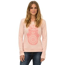 Mikina Animal DAKOTA DRIVE Shell Pink Marl