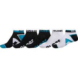 Ponožky Globe DESTROYER SOCK 5 PACK ANKLE Black
