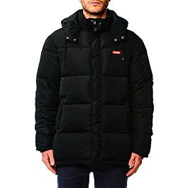 Bunda Globe IGNITE PUFFER JACKET Black