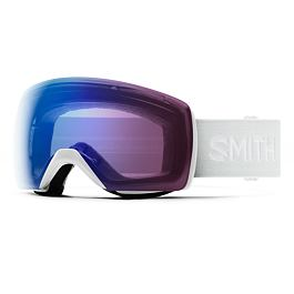 Snow brýle Smith SKYLINE XL White Vapor|ChromaPop Photochromic Rose Flash