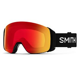 Snow brýle Smith 4D MAG Black|ChromaPop Photochromic Red