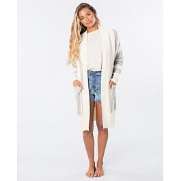 Svetr Rip Curl THE NOMADIC CARDIGAN  Off White