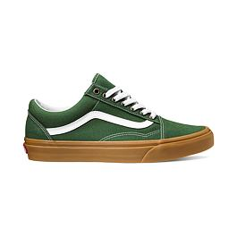 Boty Vans OLD SKOOL (Gum) Grner Pastures/True White