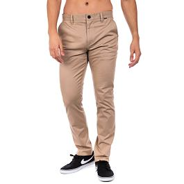 Kalhoty Hurley O&O STRETCH CHINO PANT Khaki