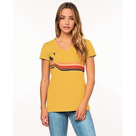 Tričko Rip Curl GOLDEN DAYS TEE  Yellow