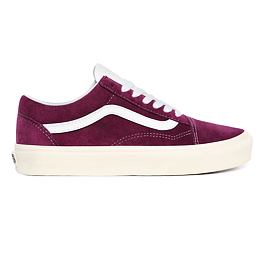 Boty Vans OLD SKOOL (Pig Suede) Grape Juice/Snow White