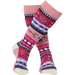 Ponožky Rojo FOLKLORE SOCK  13-3 Flamingo Pink Print