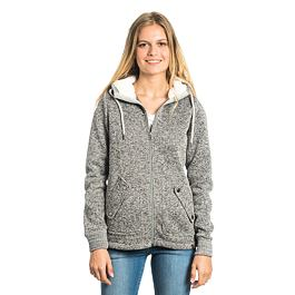 Mikina Ripcurl ACTIVE HEATHER POLAR FLEECE Frost Grey
