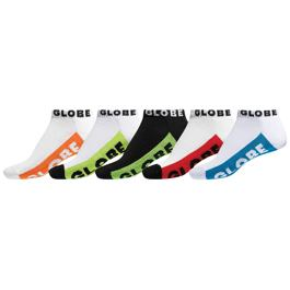 Ponožky Globe MULTI BRIGHTS ANKLE SOCK Multicolor
