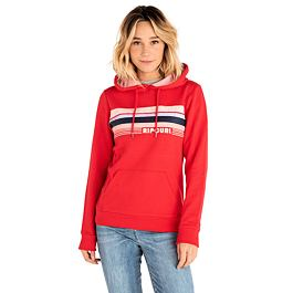 Mikina Rip Curl JESTER HOODED FLEECE  Bright Red