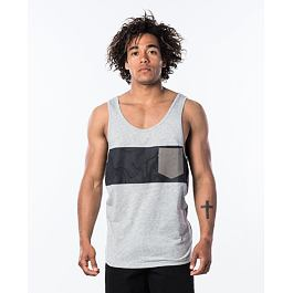Tílko Rip Curl BUSY SESSION TANK  Cement Marle