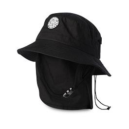 Klobouk Rip Curl WETTY SURF HAT  Black