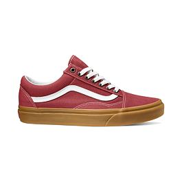Boty Vans OLD SKOOL (Gum) Rosewood/True White