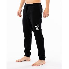 Tepláky Rip Curl SEARCH ICON TRACKPANT  Black
