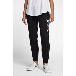 Tepláky Hurley O&O POP FLEECE TRACK PANT Black
