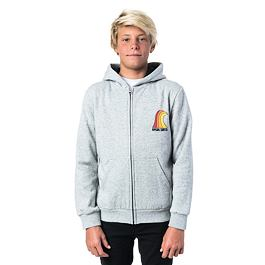 Mikina Ripcurl RINBOW WAVE HZ FLEECE  Cement Marle