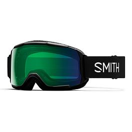 Snow brýle Smith GROM Black | Chromapop Everyday Green Mirror