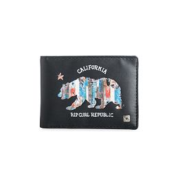 Peněženka Rip Curl SUNSET STRIP PU WALLET Black