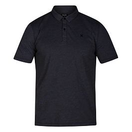 Tričko Hurley DRI-FIT CORONADO POLO S/S Dk Char Heather