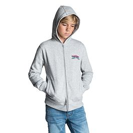 Mikina Rip Curl SPIKE HZ FLEECE  Cement Marle