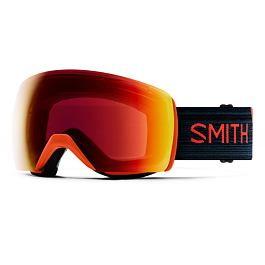 Snow brýle Smith SKYLINE XL Red Rock|ChromaPop Sun Red