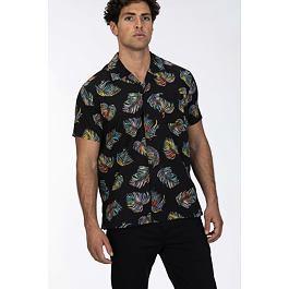 Košile Hurley BOTANICAL S/S Black