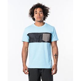 Tričko Rip Curl BUSY SESSION S/S TEE  Blue River