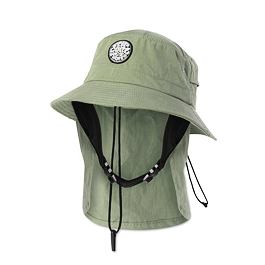 Klobouk Rip Curl WETTY SURF HAT  Mid Green