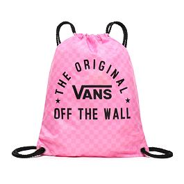 Batoh Vans BENCHED BAG Fuchsia Pink Checkerboard