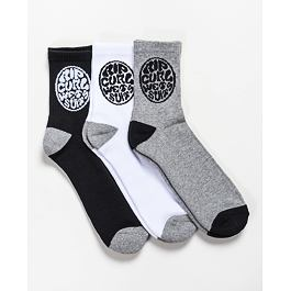 Ponožky Rip Curl WETTY SOCKS  Black/Grey