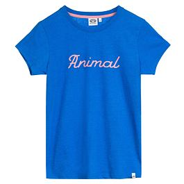 Tričko Animal LOWGO Electric Blue Marl