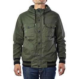Bunda Hurley ALL CITY TROOPS JACKET Carbon Green