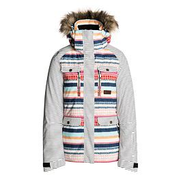 Bunda Ripcurl CHIC PTD JKT  Optical White