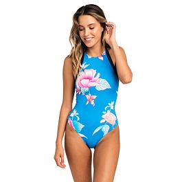 Plavky Rip Curl INFUSION FLOWER ONE PIECE  Brilliant Blue