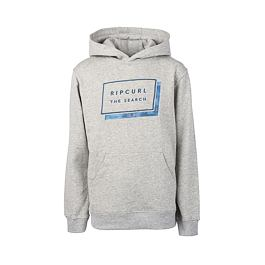 Mikina Rip Curl PRO MODEL HOODED BOY  Cement Marle