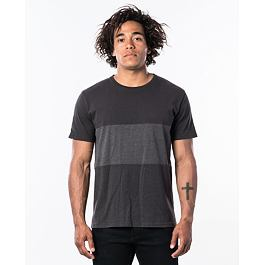 Tričko Rip Curl BUSY SESSION S/S TEE  Anthracite