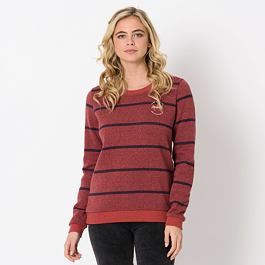Mikina Animal STRIPES Mineral Red