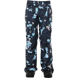 Kalhoty Rojo SNOW CULTURE PANT Floral Camo Blue Nights