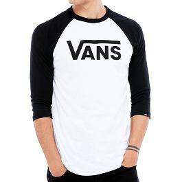 Tričko Vans CLASSIC RAGL White-Black