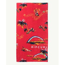Ručník Rip Curl CORPO TOWEL  Bright Red
